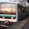 水戸線 E501系K751編成 762M 普通 小山 行
