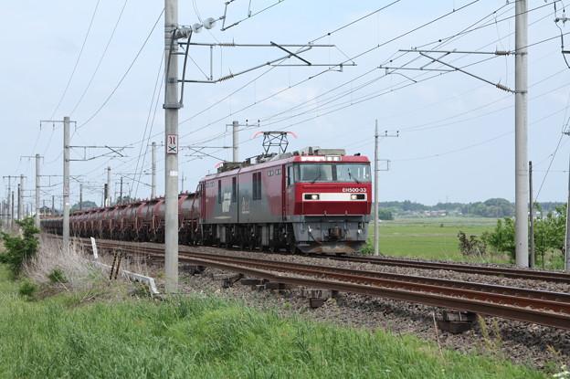 安中貨物 5094レ EH500-33+タキ+トキ (3)
