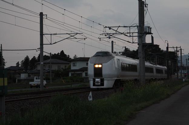 651系K201編成 9723M 臨時快速足利大藤まつり号 いわき 行 (3)