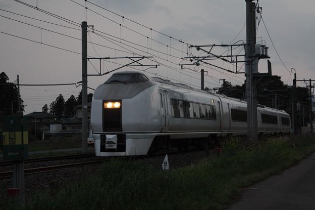 651系K201編成 9723M 臨時快速足利大藤まつり号 いわき 行 (5)