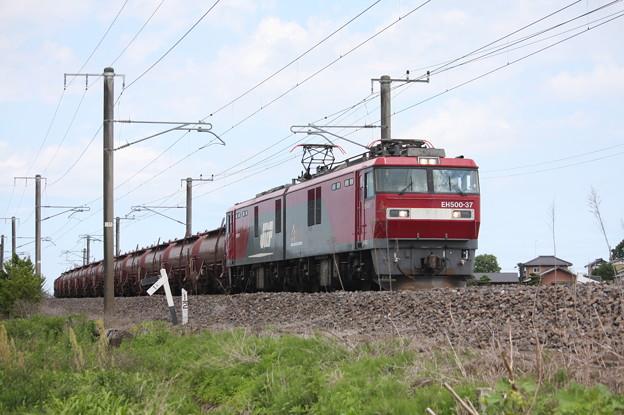 安中貨物 5094レ EH500-37+タキ+トキ (7)