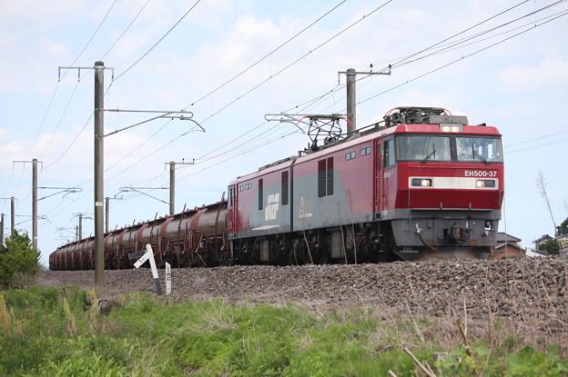 安中貨物 5094レ EH500-37+タキ+トキ (8)