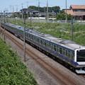 常磐線 E531系K406編成 394M 普通 上野 行