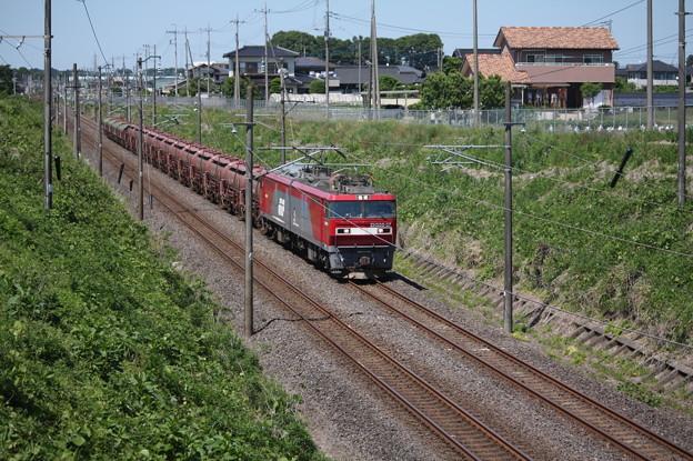 安中貨物 5094レ EH500-37+タキ+トキ (2)
