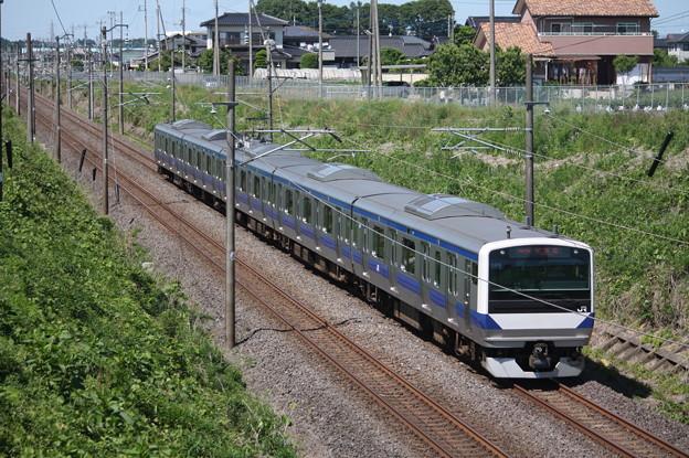常磐線 E531系K476編成 550M 普通 土浦 行