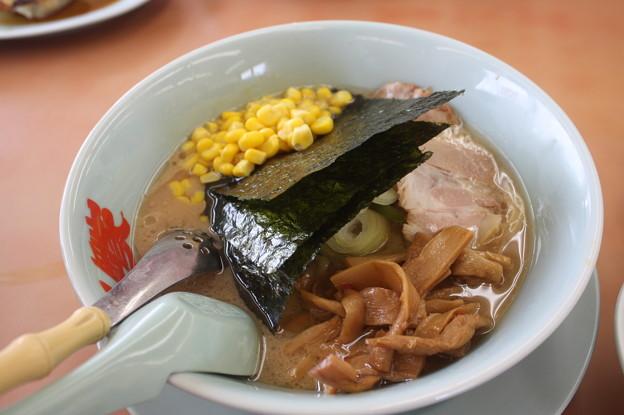 ラーメン山岡家 醤油ラーメンメンマ・コーントッピング