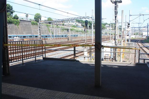 日暮里駅常磐快速線ホーム