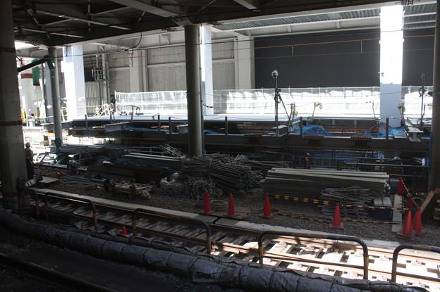 埼京線・湘南新宿ライン渋谷駅線路切替工事の様子 20180603_09