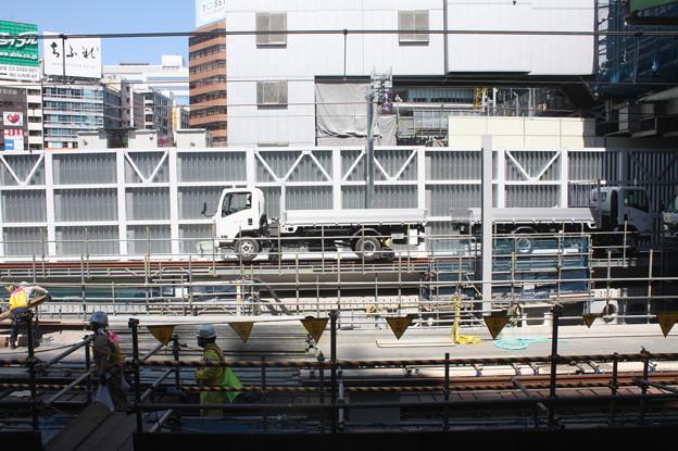 埼京線・湘南新宿ライン渋谷駅線路切替工事の様子 20180603_13