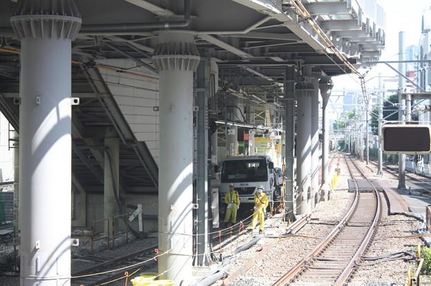 埼京線・湘南新宿ライン渋谷駅線路切替工事の様子 20180603_20