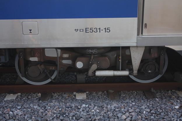 E531系 KY出場後の台車 指定保全 (3)