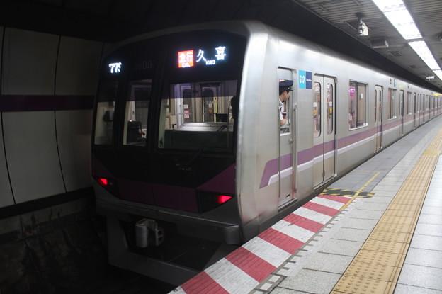 東京メトロ半蔵門線 08系08-107F 急行 久喜 行 (1)
