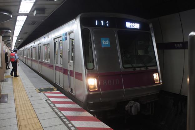 東京メトロ半蔵門線 8000系8110F 普通 中央林間 行 (1)
