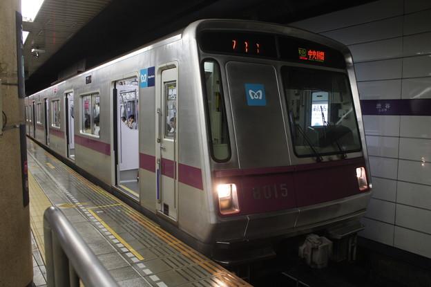 東京メトロ半蔵門線 8000系8115F 準急 中央林間 行