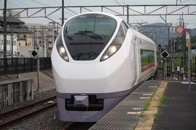 回8725M E657系K11編成 KY出場回送 (6)