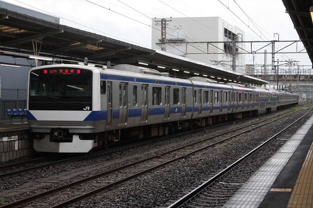 常磐線 E531系K407編成 327M 普通 勝田 行