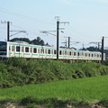 Photos: 初夏の田園風景を行くE501系 (2)