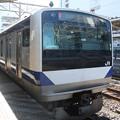 常磐線 E531系K419編成 436M 普通 上野 行 (1)