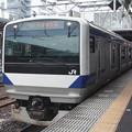 水戸線 E531系3000番台K552編成 725M 普通 勝田 行