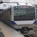 水戸線 E531系K458編成 571M 普通 高萩 行