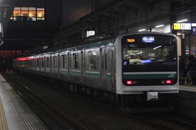写真: 水戸線 E501系