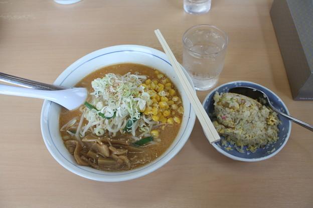 めん屋大黒 味噌ラーメンメンマ・コーントッピング