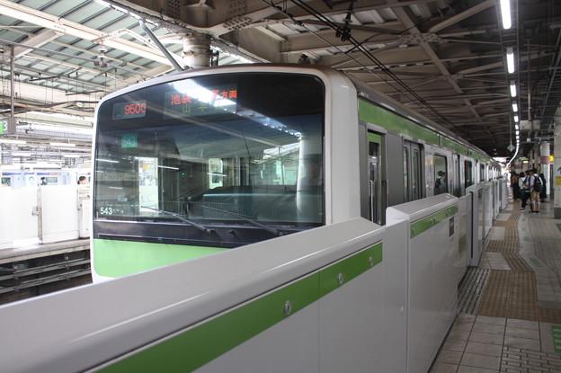 山手線 E231系500番台トウ543編成
