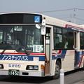 茨城交通 水戸200か1452 笠間ひまつりシャトルバス