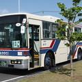 写真: 茨城交通 水戸200か1207 笠間ひまつりシャトルバス