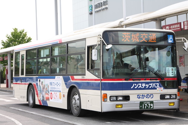 茨城交通 水戸200か1779 笠間ひまつりシャトルバス