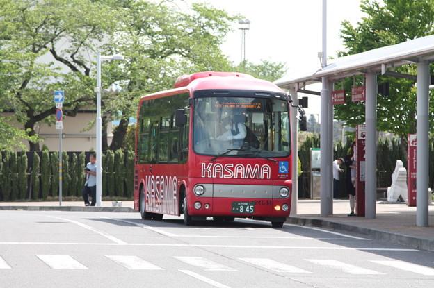 茨城交通 かさま観光周遊バス