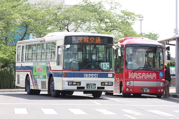 茨城交通 水戸200か1207・水戸200か845