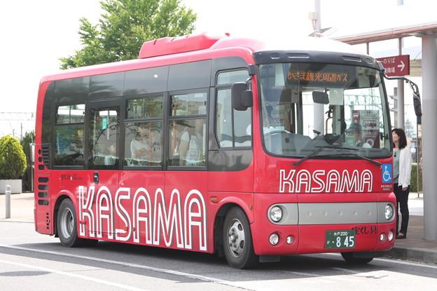 茨城交通 かさま観光周遊バス (1)