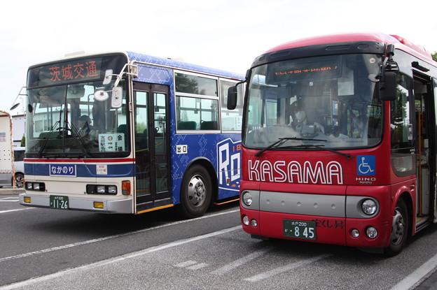 茨城交通 水戸200か1126・水戸200か845
