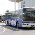 写真: 茨城交通 水戸200か1126 「茨城ロボッツ」ラッピング 笠間ひまつりシャトルバス (2)