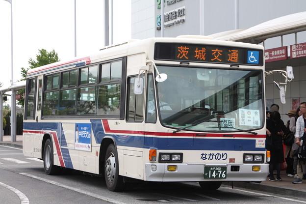 茨城交通 水戸200か1476 笠間ひまつりシャトルバス