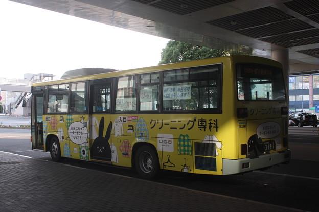 写真: 関東鉄道 1833MT 「クリーニング専科」ラッピング