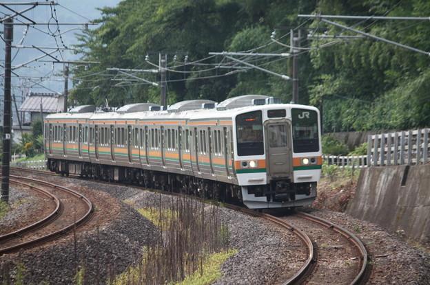 Photos: 信越本線 211系3000番台A51編成 146M 普通 高崎 行