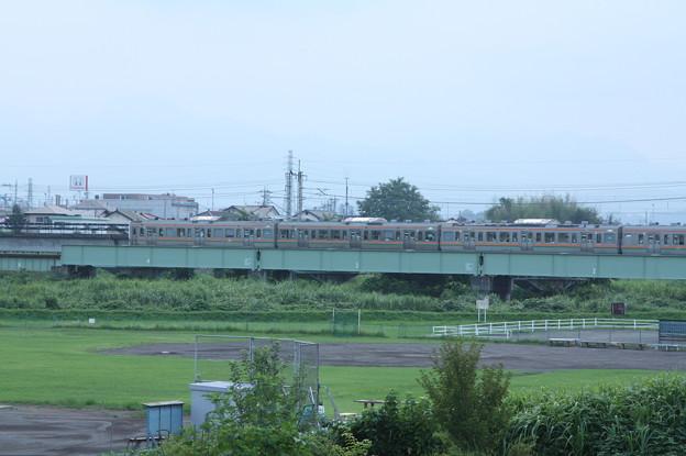211系3000番台 普通 横川 行 安中鉄橋付近 (1)