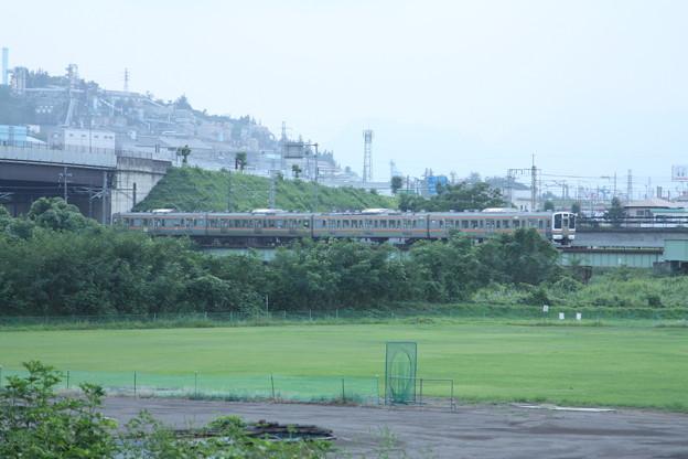 211系3000番台 普通 横川 行 安中鉄橋付近 (3)