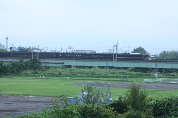 ELレトロ碓氷 EF64 1052+旧客6B+D51 498 安中鉄橋付近 (5)