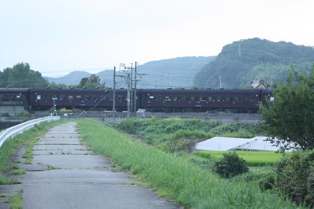 ELレトロ碓氷 EF64 1052+旧客6B+D51 498 安中鉄橋付近 (10)