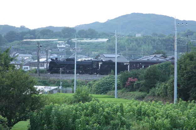 ELレトロ碓氷 EF64 1052+旧客6B+D51 498 安中鉄橋付近 (13)