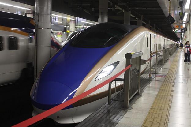 北陸新幹線 E7系F8編成 (1)