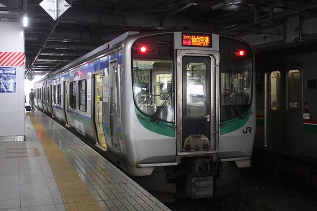 仙台空港アクセス線 E721系500番台P501編成 (1)