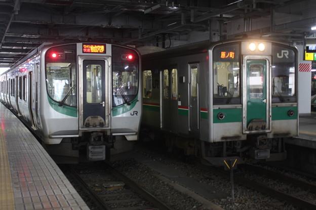 E721系500番台P501編成・701系1500番台F2-517編成