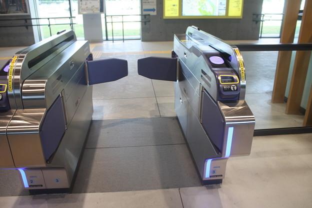 仙台市営地下鉄東西線 国際センター駅 自動改札機