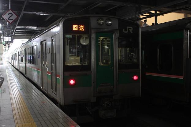 東北本線 701系1500番台F2-501編成