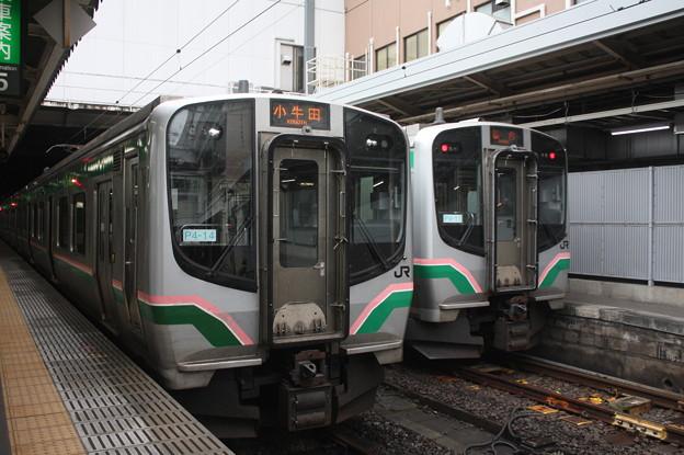 東北本線 E721系1000番台P4-14編成・P4-11編成
