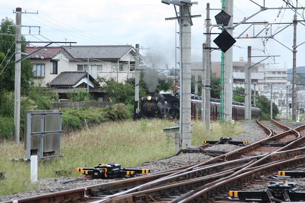 秩父鉄道 パレオエクスプレス 5001レ C58 363+12系客車4B 秩父~御花畑